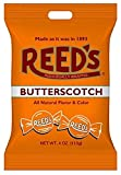 Old-fashioned butterscotch flavored hard candy. Individually wrapped. All natural flavor & color. Includes: 1 Bag of Reed's Butterscotch Hard Candy, 4 oz.