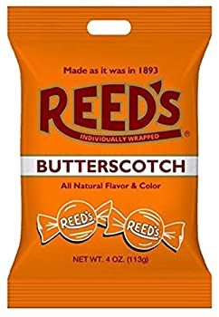 Old-Fashioned Reed s Butterscotch Hard Candy 4 oz Bag