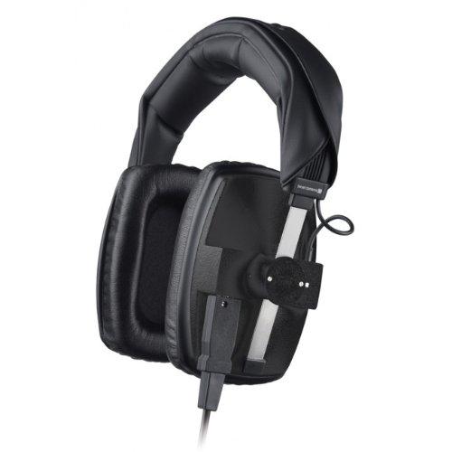 beyerdynamic DT 100 Studio-Kopfhörer (400 Ohm, geschlossen, mit Kabel K 100.07, Stereo-Klinke 3,5 mm/Adapter 6,35 mm) schwarz