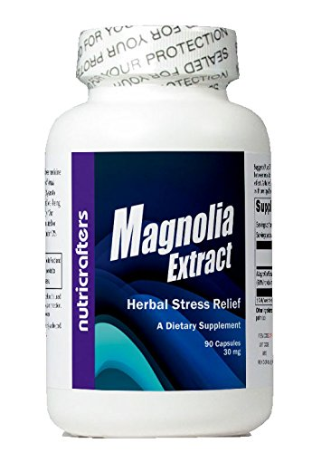 Magnolia 45X Extract 30mg 90 Capsules - 45 Times More Potent Than Standard 2% Products.