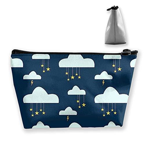Trousse de maquillage Cloud Star Night - Portable - Avec fermeture éclair