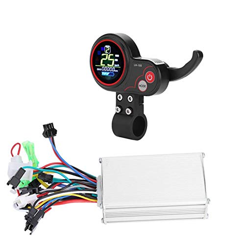 DAUERHAFT - Display del controller per bicicletta elettrica impermeabile (60 V 250/350 W Color Screen Dual Mode)