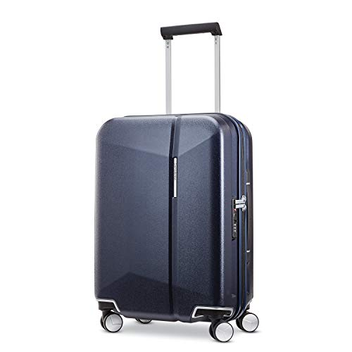 Samsonite Etude Hardside Luggage with Spinner Wheels, Dark Navy, Carry-On 20-Inch