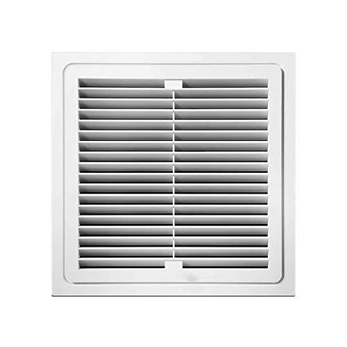 JYJZHX HQSBQISHAN Ventilación de Ruido del Ventilador de Cristal de Ventana de ventilación de Tipo Extractor silenciosa y Potente de baño Cocina Velocidad Nominal