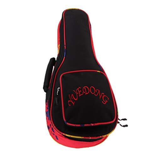 Ukulele Tasche Gigbag Guitar Bag Oxford Konzertgitarren Tragetasche gepolstert Wasserdichte - 26 Zoll