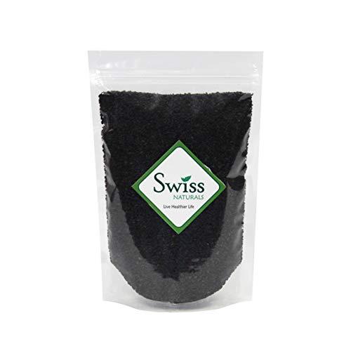 Swiss Naturals Black Sesame Seeds (Til) 1Kg