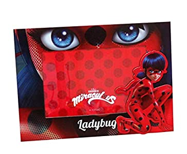 Lady Bug Miraculous- 0 Portafotos magnético, Multicolor, 0 (CYP Imports PF-30-LB)