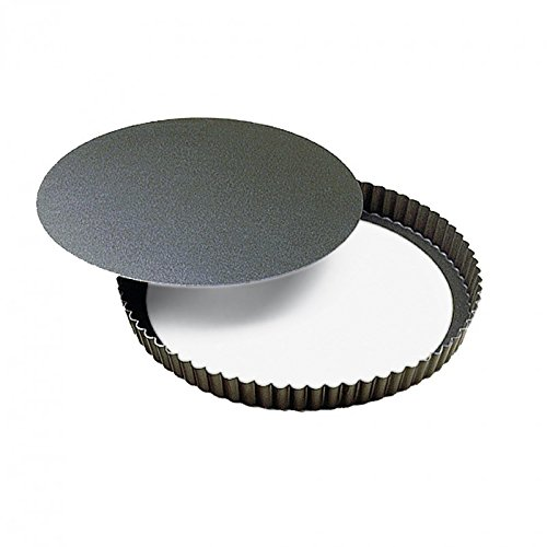 Gobel 226430 Moule à Tarte 24 cm Fond Amovible Anti-Adhérent