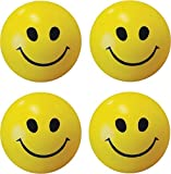 Smile N Style Essentials- (Set of 3) Smiley Face Squeeze Stress Ball