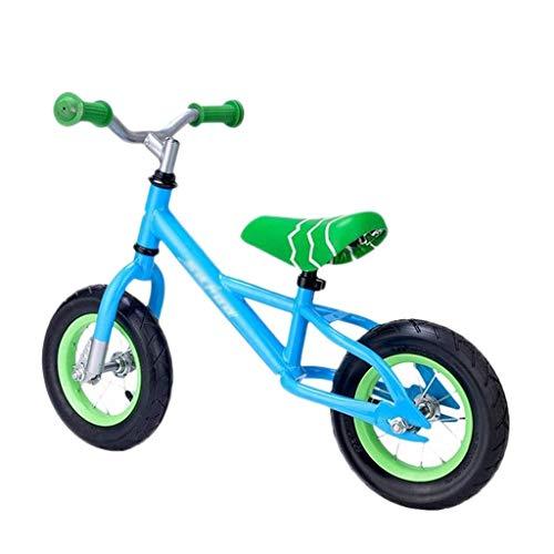 min min Bicicletas de Equilibrio Niños Mini Bicicleta sin Pedal de 10 Pulgadas Childs Bicicleta extraíble Ligera Pequeño sin Pedal Bicicleta Cochecito de Equilibrio (Color: Azul) (Color : Blue)