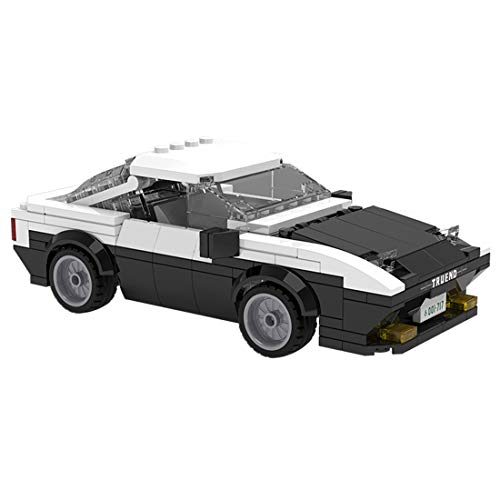 Yauyn Technic Car Building Block for AE86 1/24 DIY Sports Car Building Kit Compatible with Lego - 280pcs