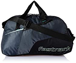 Fastrack Polyester 17 inches Black Travel Duffle (A0721NBK01),Titan,A0721NBK01,Travel Duffle