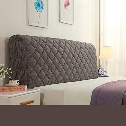 Color : Coffee, Size : 100 * 20 * 60cm 7 Sizes CYLQ Headboard Back Cushion Read Pillow Neck Roll For Sofa Bed Backrest Support Pillow Soft Adult Decoration Removable Washable 4 Colors