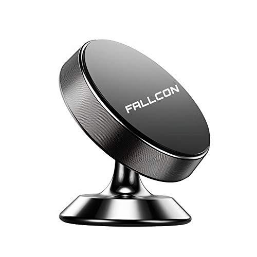 Iman Coche Movil ,Soporte Imán Magnetico para Salpicadero 360° Rotación Universal Soporte con Adhesivo 3M,Soporte Teléfono Magnético Sostenedor para iPhone Samsung Móviles Dispositivo GPS