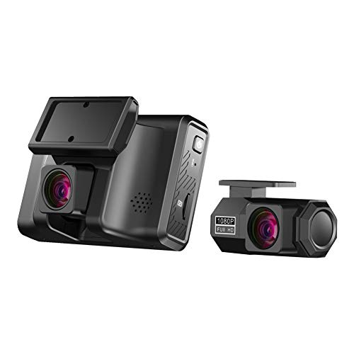 ZEROGOGO Dash Cam Front and Rear 2.5K, Built in GPS Dash Camera for Cars Sony Sensor, 170° Wide Angle Dual Dash Cam Support 256GB, Parking Monitor, Motion Detection, Super Night Vision, WDR