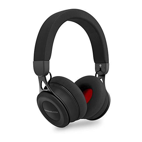 Energy Sistem Headphones BT Urban 3 Black Auricular inalambrico (Deep Bass, Bluetooth, Metal finishes, Long-Life Battery) Negro