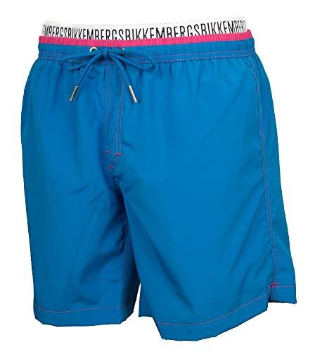 Bikkembergs Boxer Hombre mar Pool Swimwear Beachwear artículo P327 L1E, 3300 Turchese, L