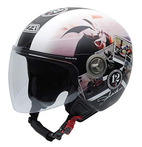 NZI 050332G909 Helix IV Angel Nieto 12+1 Ran, Casco de Moto, Talla 57 (M)