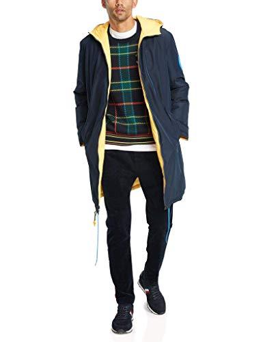 Guytalk Mens Reversible Water Resistant Down Puffer Vest Jacket Brown/Black