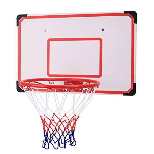 TriGold Mini Aro De Baloncesto para Los Niños,Montaje En Pared Canasta De Baloncesto Over The Door,portátil Objetivo De Baloncesto Interior Al Aire Libre A