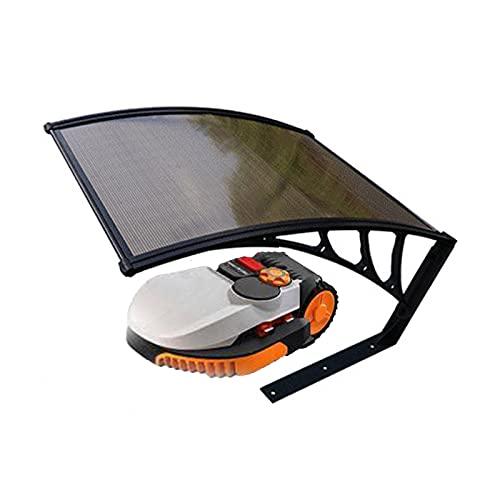 CDDQ Espesar Carport para Robot Cortacésped Policarbonato,Talla 920 * 690 * 120mm