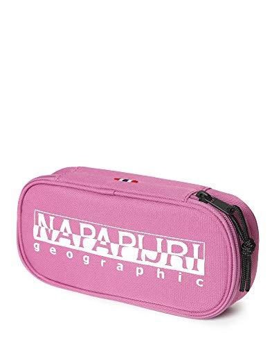 Napapijri Happy Pen Organizer Astuccio, 0 cm, Dahlia Pink (Rosa) - N0YID4