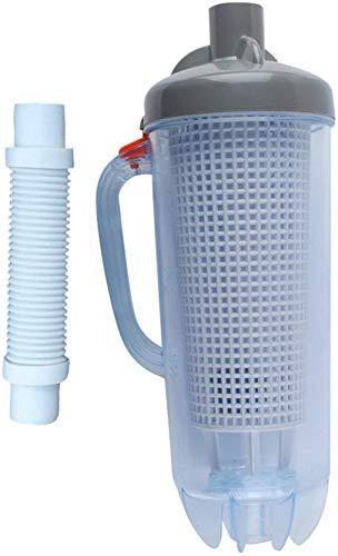 Poweka Prefiltro para Limpiafondos Automático de Succión al Vacío Compatible con Hayward Zodiac Baracuda Pentair Piscinas y SPA con Canastilla de Malla