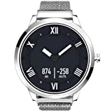 Generic Lenovo Watch X Plus Milanese Stainless Steel Strap Smart Watch, Support Heart Rate Monitor/Sleep Monitor/Gesture Photo/Recordatorio Sedentary / Sport Tracking (Silver)