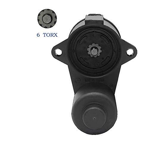 NFSpeeding Stellmotor Handbremse Bremssattel 6-seitig 6 Torx 3C0998281B für Passat Tiguan Sharan AD Q3 A6 Alhambra 3C0998281A 3C0 998 281 B