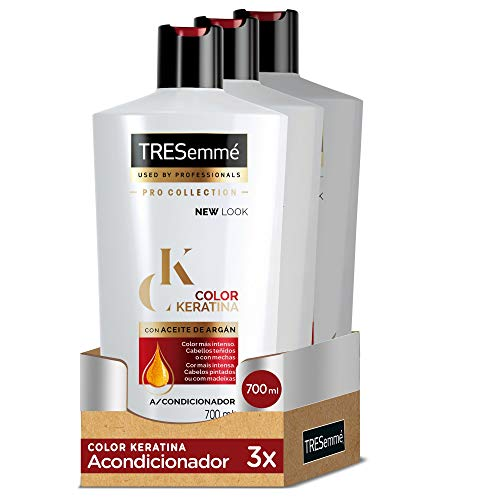 TRESemmé Acondicionador Color Keratina - Paquete de 3 x 700 ml - Total:...