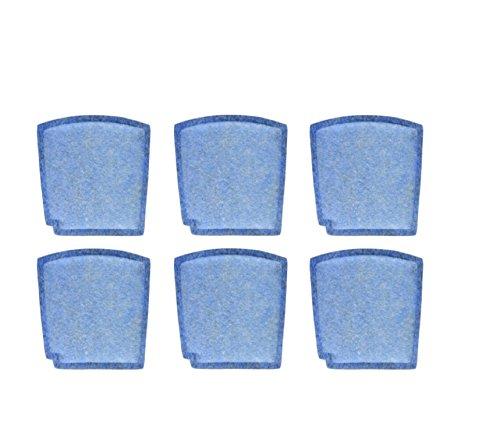 Nispira Filter Replacement Compatible with Hamilton Beach Pet TrueAir True Air Purifier Odor Eliminators Model 04384, 04386, 04532, 04532GM, 04530, 6 Packs