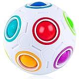 Coolzon Magic Ball Puzzle Cube Pop Rainbow Magico Cubo Juguetes para Niños Adultos Educación