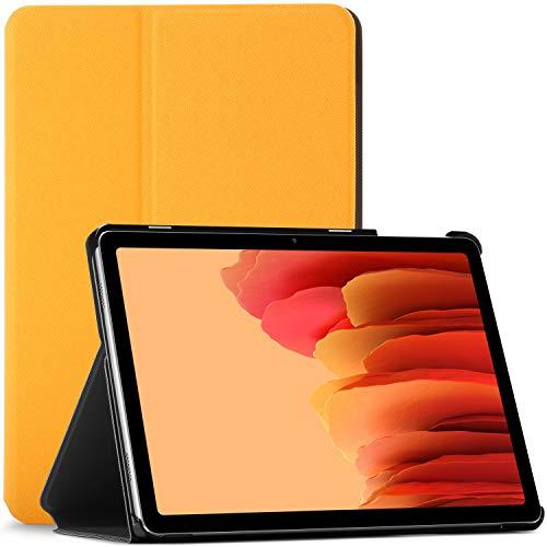 Forefront Hülles Hülle für Samsung Galaxy Tab A7 10.4 - Schutz Galaxy Tab A7 Hülle Ständer - Gelb - Dünn und Leicht, Smart Auto Schlaf/Wach, Samsung Galaxy Tab A7 10.4 Zoll 2020 Hülle, Tasche