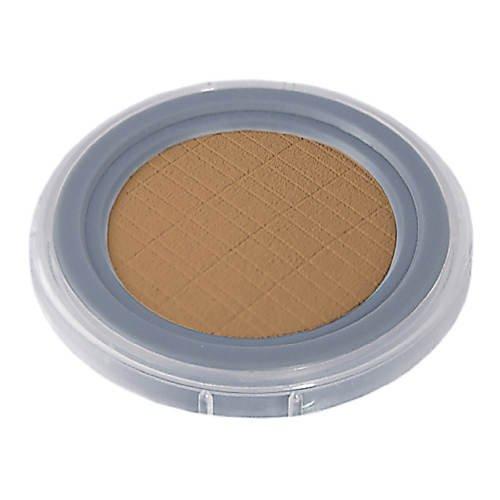 GRIMAS Compact Powder | Farbe 10 Dunkelbraun | 8 g | Hautfarben Puder Basis-Make-Up & Zum Mattieren...