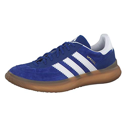 adidas Hb Spezial Boost Sportschuhe, Aznobl/Ftwbla/Dormet, 35 EU