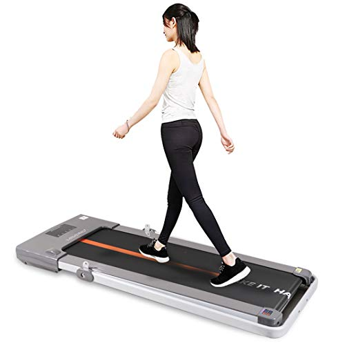 MAXPRO PTM-X1 2HP Motorized Foldable PRE-INSTALLATED Aerobic Sport Fitness Treadmill, Walking PAD with LED Display