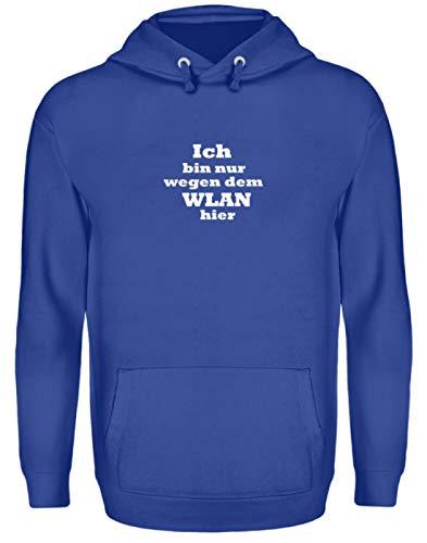 Sudadera con capucha unisex con texto en alemán