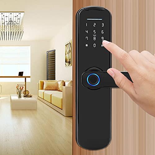 Cerradura de Huellas Dactilares, módulo de función de identificación Inteligente Operación humanizada Cerradura de Puerta Inteligente para el Sistema de Seguridad del hogar