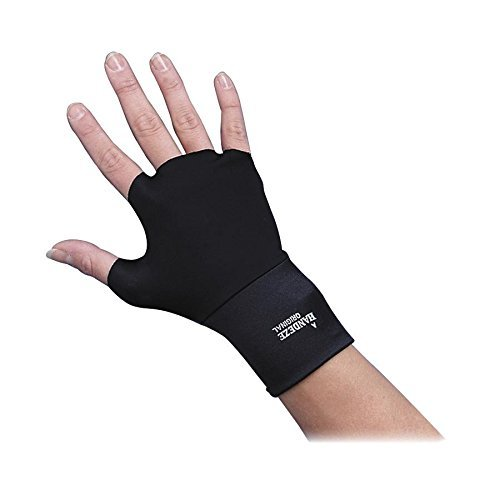 Dome 3704 Ergonomic Therapeutic Support Gloves Medium Size Black