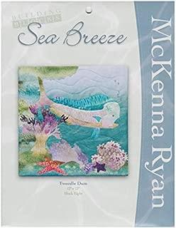 McKenna Ryan Quilt Pattern, Sea Breeze Collection - Block #8 Tweedle Dum - Mahi Mahi Fish (12