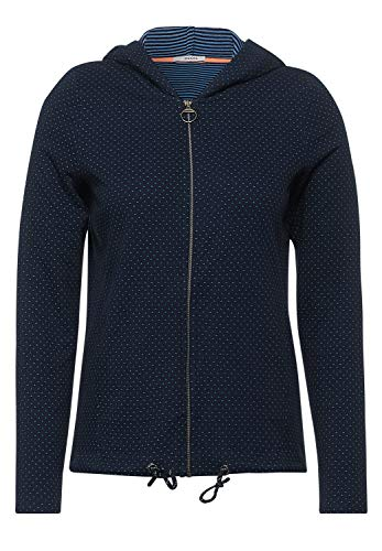 Cecil Damen 316076 Strickjacke, deep Blue, M