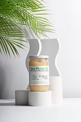 720ml Sea Moss Gel| All-Natural Multivitamin for The Whole Family | St Lucian Gold | Immunity-Boosting| Brain-Protecting| Digestion-Aiding