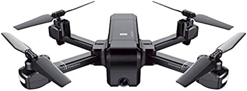 GPS Drone,720P HD und GPS Return Home Quadcopter mit Adjustable Wide-Angle WiFi Camera Follow Me, mit Altitude Hold, Gravity Sensor Funktion,schwarz