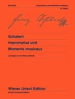 Impromptus and Moments Musicaux Piano (Wiener Urtext Edition)