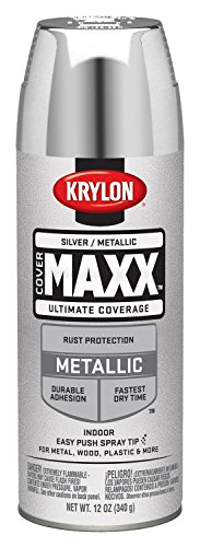 Krylon K09196000 COVERMAXX Spray Paint, Metallic...