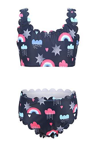 Moon Tree Bikini para niña de 3 a 16 años Marine Rainbow 30 7-8 Años