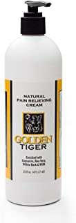 Golden Tiger Pain Relief Cream 16oz Pump