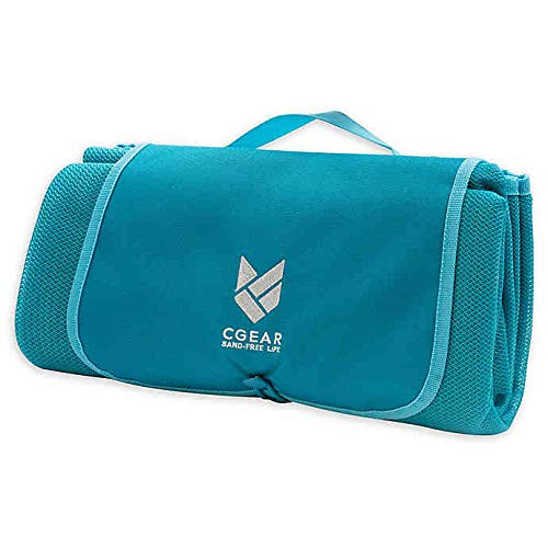 CGear Sandlite, Patented Sand-Free Beach Mat that's durable, water-resistant and great for family...
