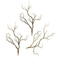 3本 人工木 乾燥枝 植物 結婚式 ブーケ パーティー ルーム ホテル 会場 装飾