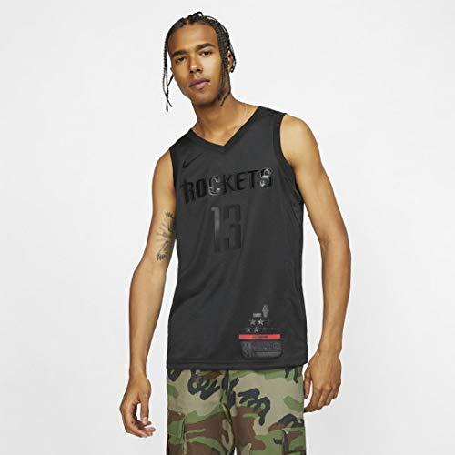 NIKE NBA M Nk MVP JSY Camiseta, Hombre, Black/Harden James